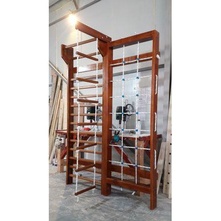 Spalier Gimnastica Multifunctional, Prospalier, 245x160 cm, 15 BARE, M550LC1, colorat_imaginea_2