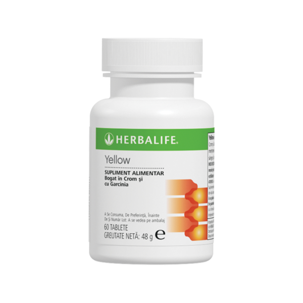Thermojetics Yellow Herbalife 60 de tablete 1