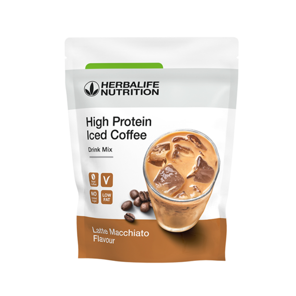 High Protein Iced Coffee Latte macchiato 308g 1