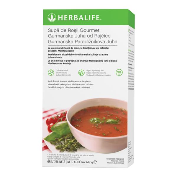 Supa de Roşii Gourmet Herbalife Pachet cu 21 de porții 672g 1