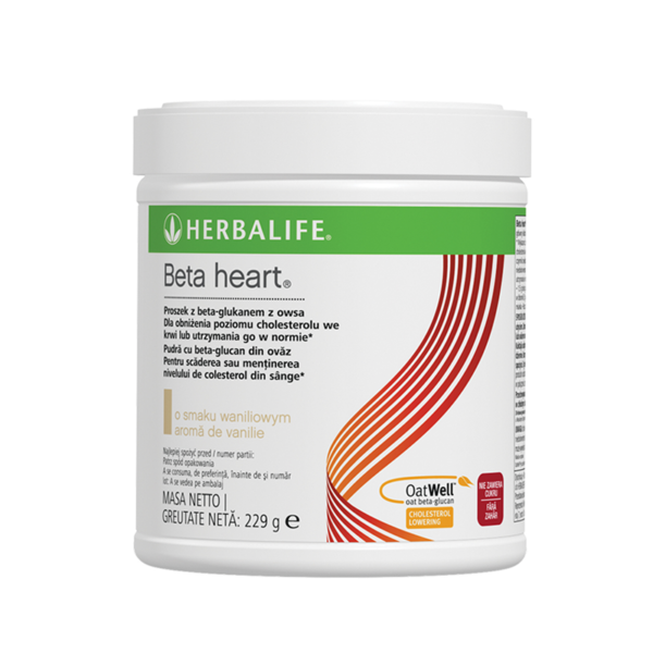 Herbalife Beta heart Vanilie 229g 1