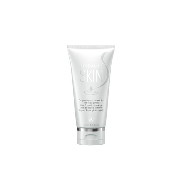 Herbalife SKIN Mască purificatoare pe bază de argilă şi mentă 120ml 1