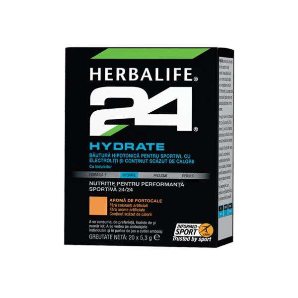 Herbalife H24 Hydrate Portocaliu 20 de pachete 1