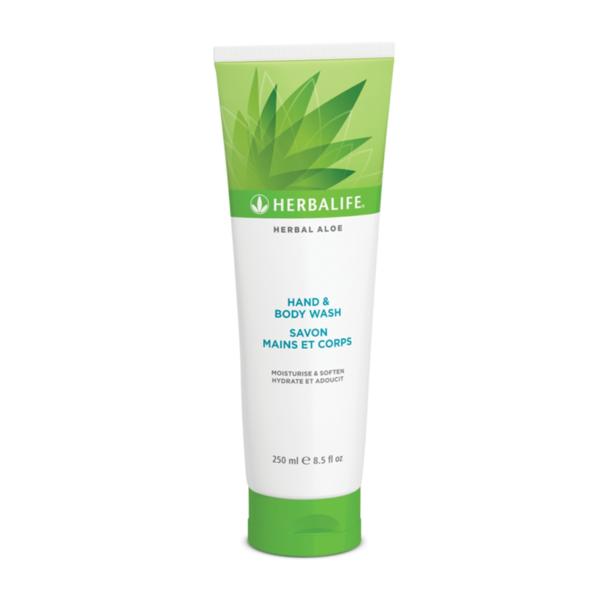 Herbal Aloe Gel de Curăţare pentru Mâini şi Corp 250ml 1