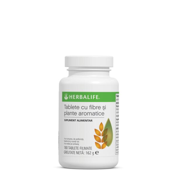 Fibre şi plante aromatice Herbalife 180 de tablete 1
