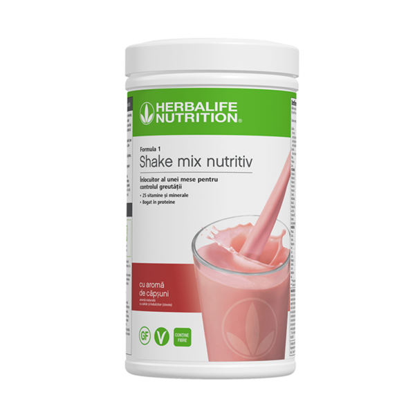 Herbalife Shake Formula 1 Căpșune 550g 1