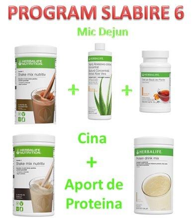 Program Slabire 6 1