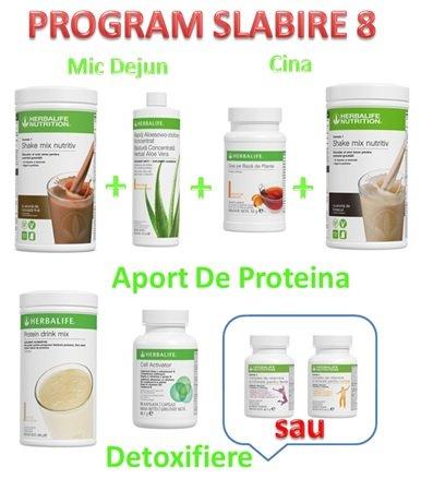 Program de Slabire Herbalife 8 1